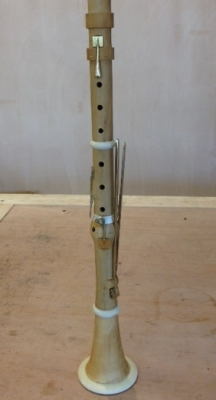 Making clarinets with Daniel Bangham at Cambridge Woodwind Makers