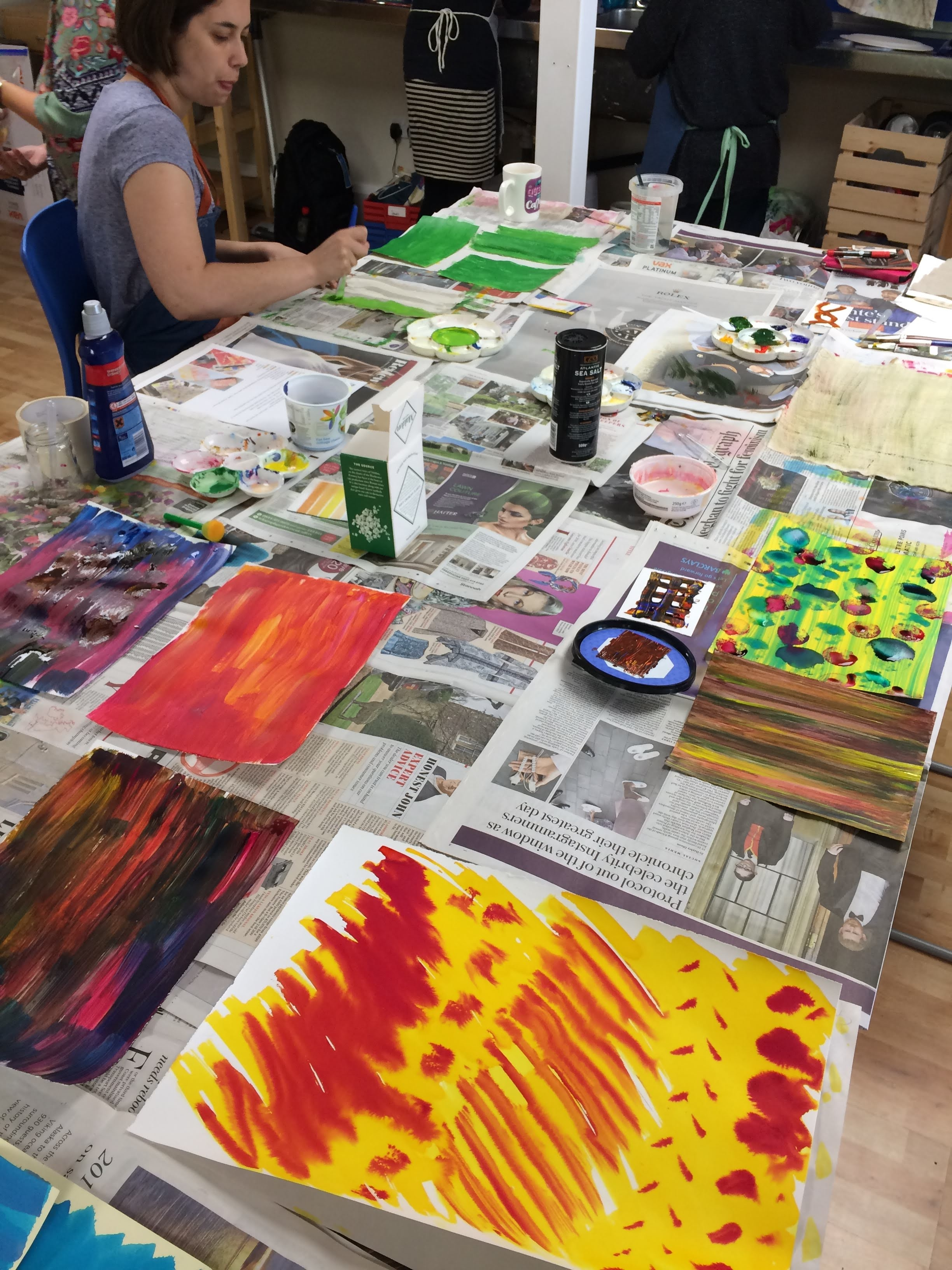 Textiles & Mixed Media courses with Gill Collinson at Cambridge Art Makers