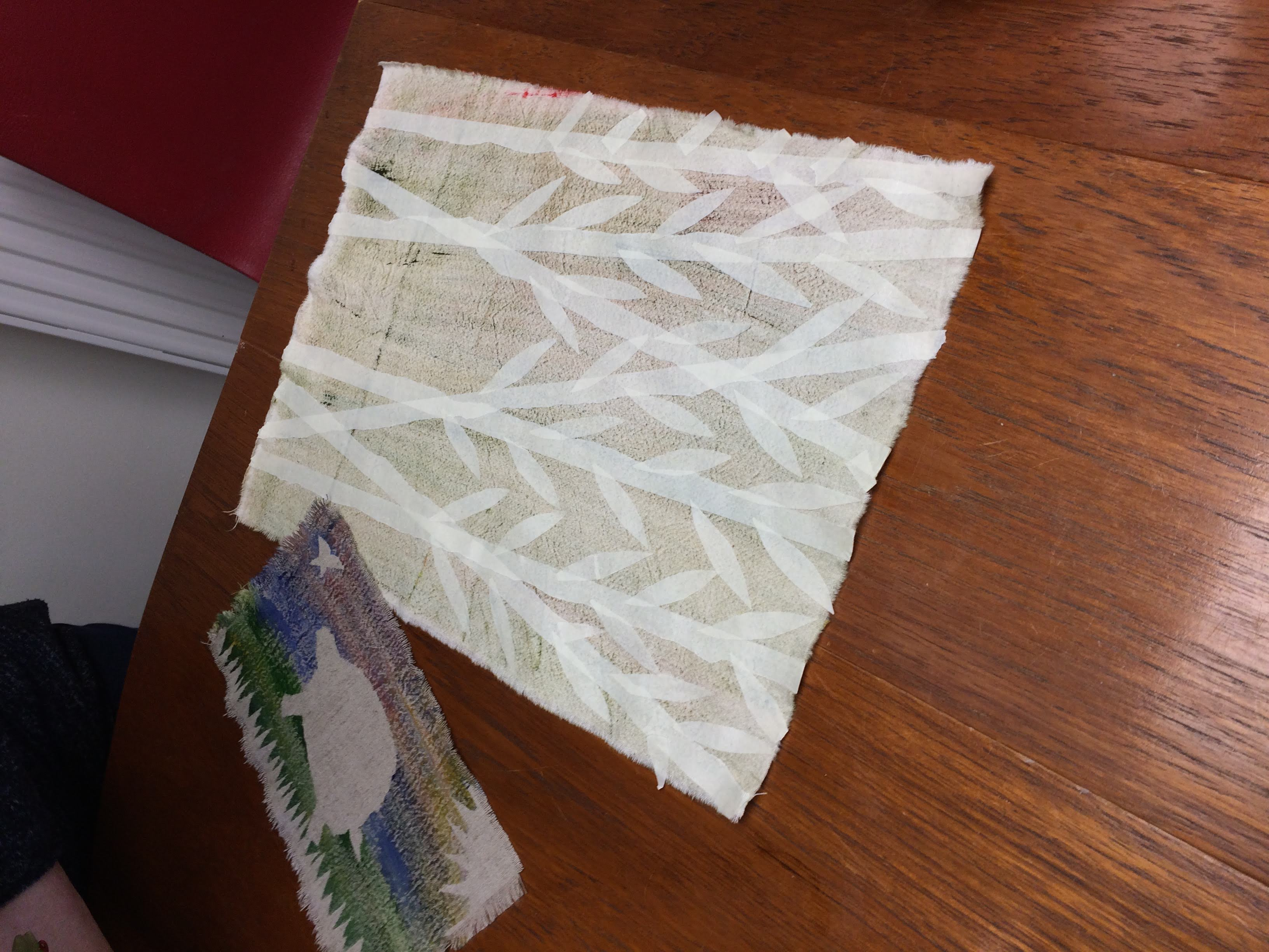 Textiles & Mixed Media resist dyeing with Gill Collinson at Cambridge Art Makers
