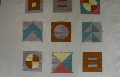 Modern Sampler Quilt Making course with Niki Chandler at Cambridge Art Makers