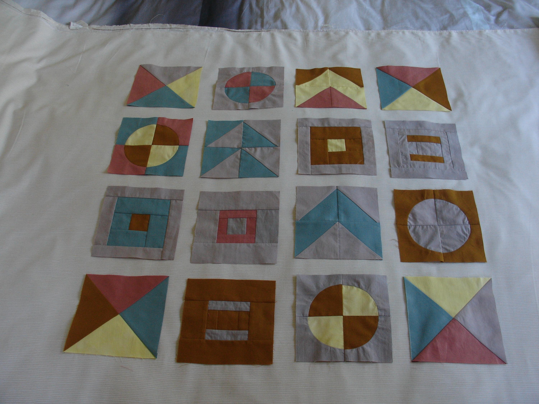 Modern Sampler Quilt Making course with Niki Chandler at Cambridge Art Makers