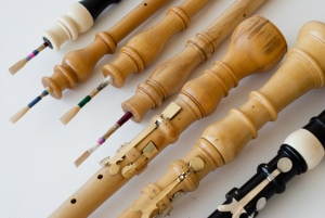 Oboes by Paul van der Linden tutor of Baroque Oboe Making course at Cambridge Woodwind Makers