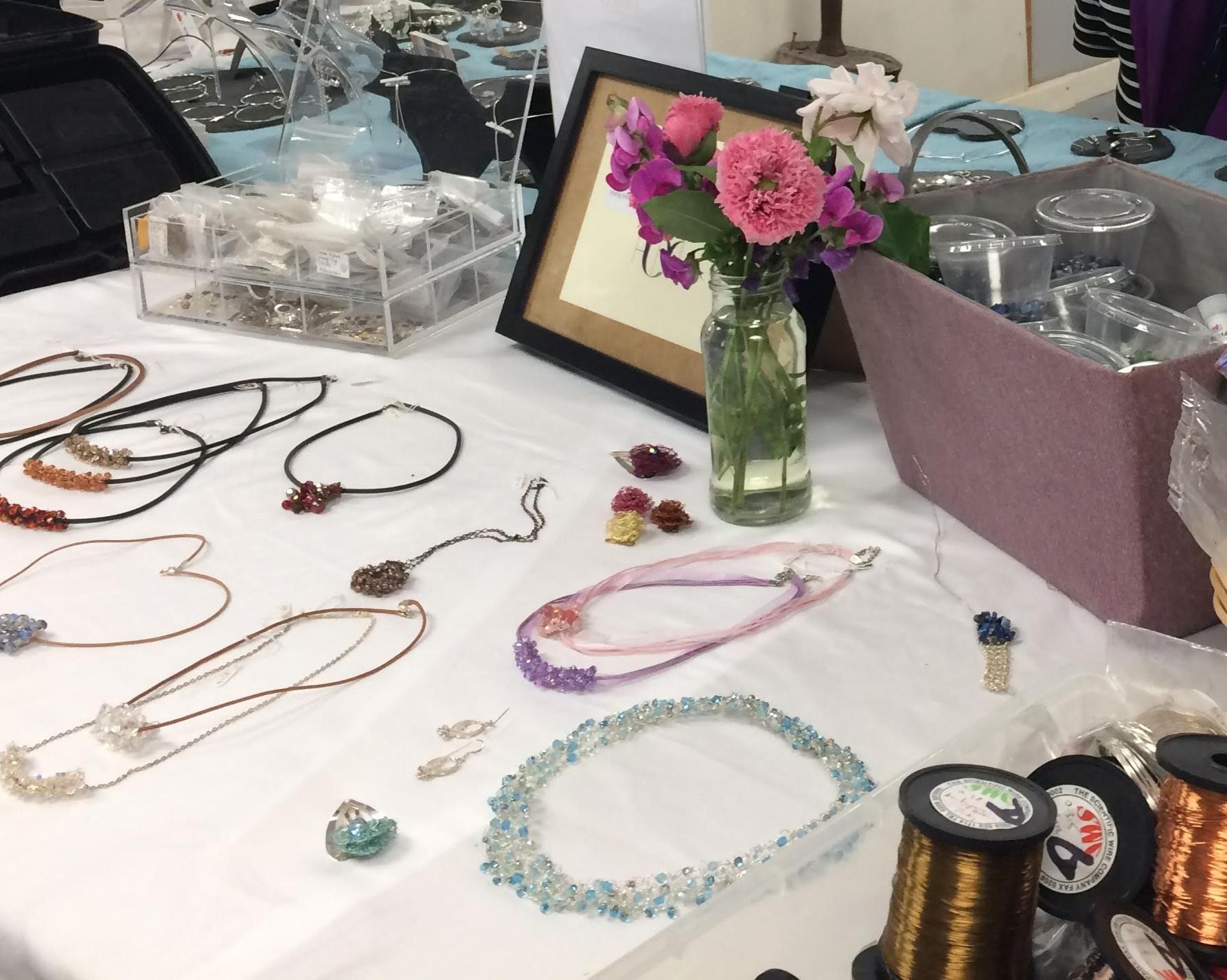Alison Mander jewellery at Cambridge Art Makers