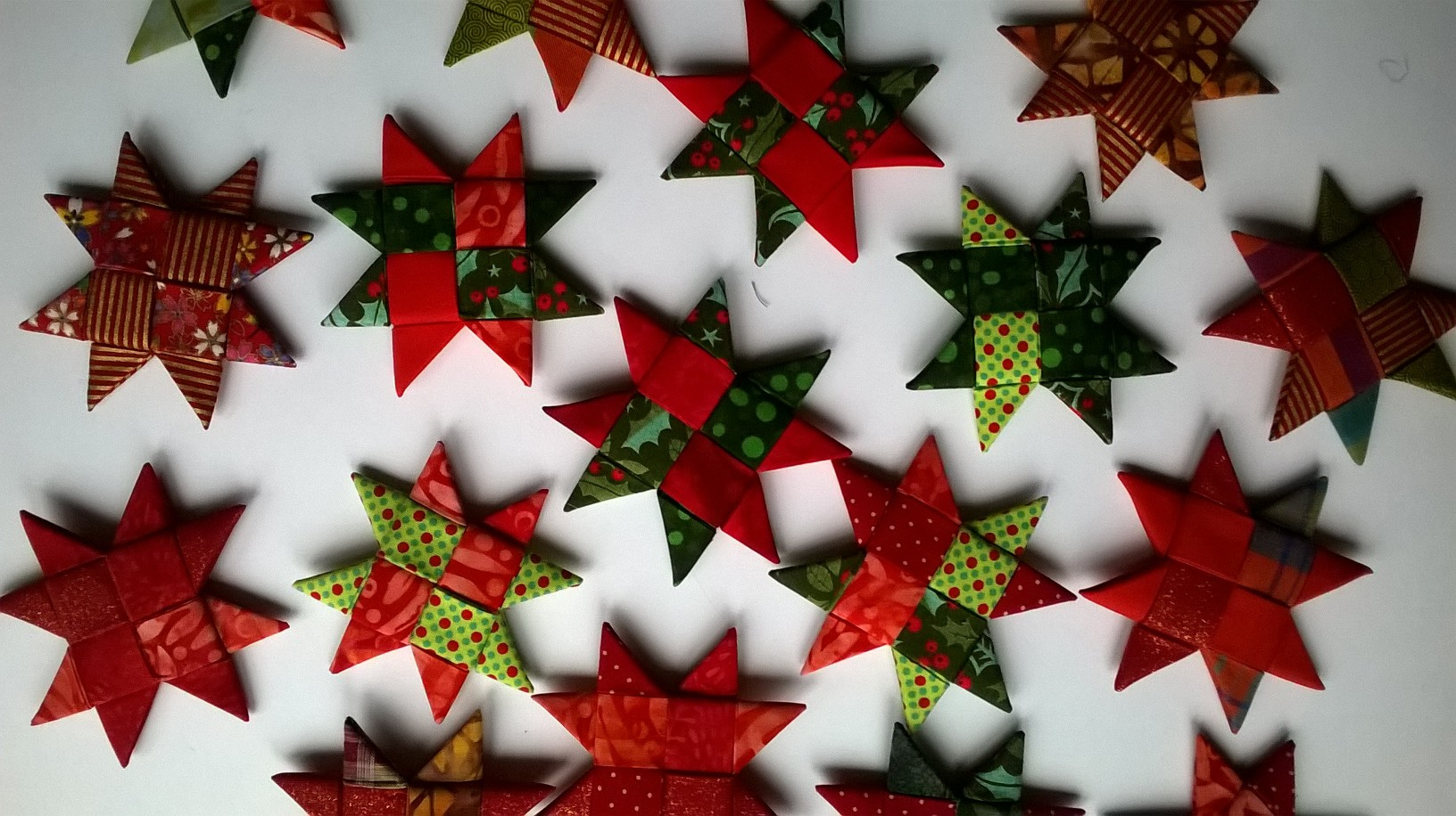 Scandi no-sew Stars course with Niki Chandler at Cambridge Art Makers