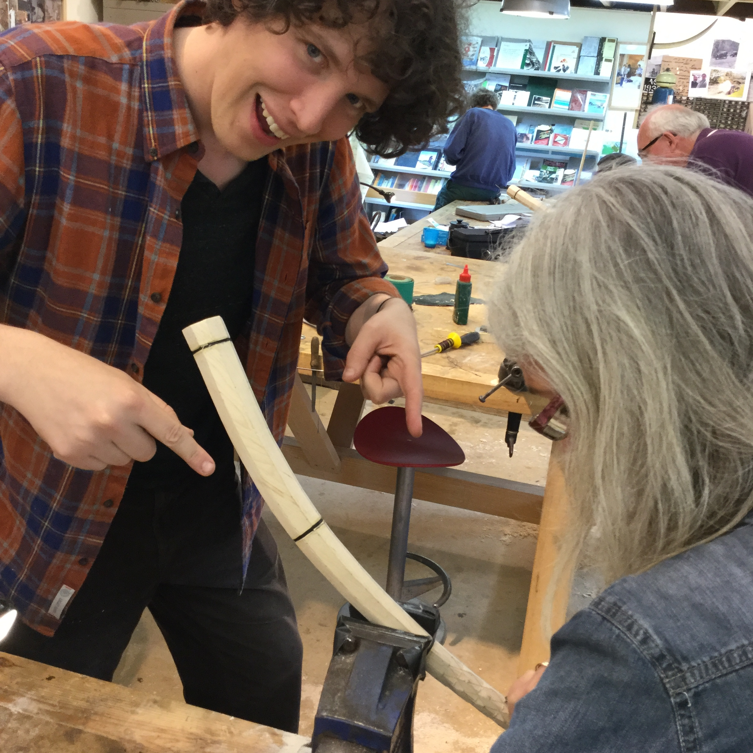 Andrew Hallock tutor at Cambridge Woodwind Makers