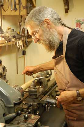 Paul Windridge tutor at Cambridge Woodwind Makers