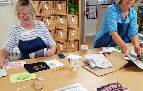 Textiles & Mixed Media course with Gill Collinson at Cambridge Art Makers