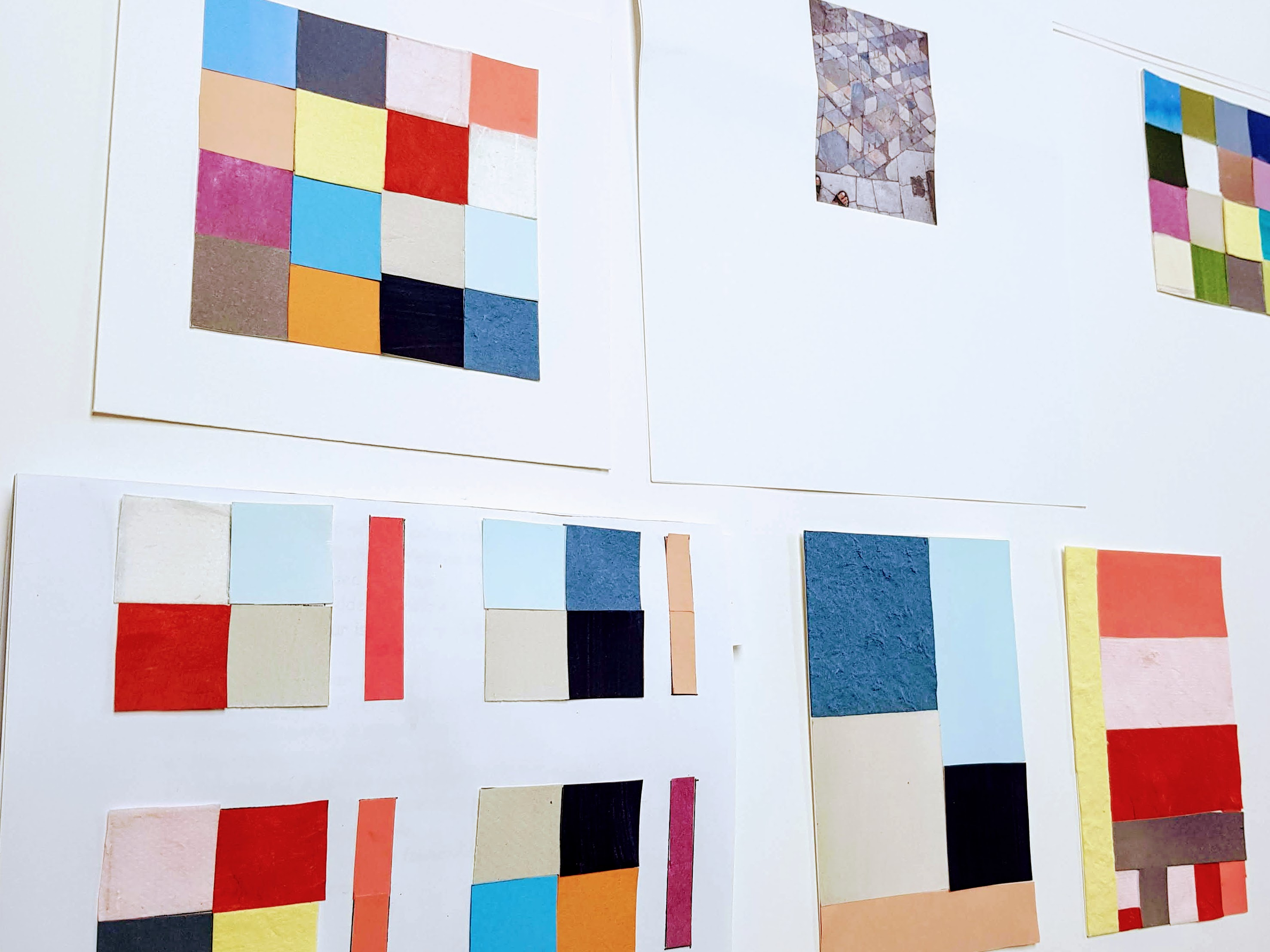 Modern quilt planning with Niki Chandler at Cambridge Art Makers Patchwork & Quilting courses