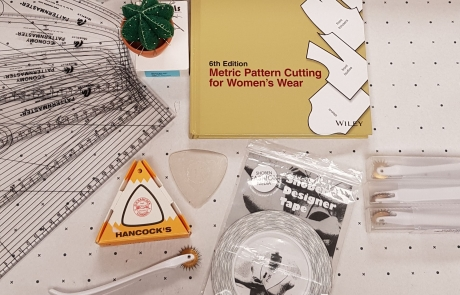 Pattern Cutting courses with Jacqueline Bounsall at Cambridge Art Makers