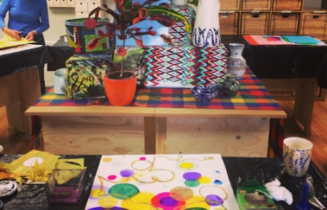 Creative Drawing display course with Niki Chandler at Cambridge Art Makers