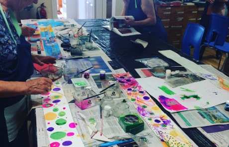 Creative Drawing course with Niki Chandler at Cambridge Art Makers