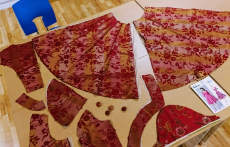 Dress making pattern and sewing course with Gill Collinson at Cambridge Art Makers