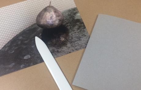 Book binding at Cambridge Art Makers