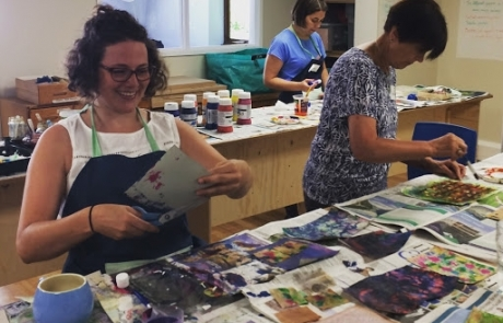 Textiles& Mixed Media courses with Gill Collinson at Cambridge Art Makers