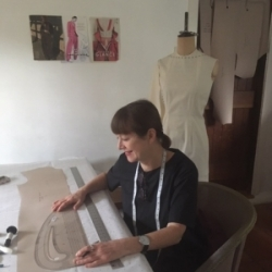 Jacqueline Bounsall Pattern Cutting course tutor at Cambridge Art Makers