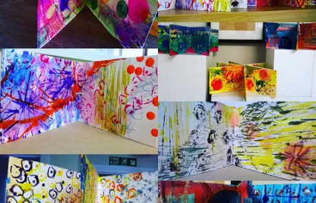 Books from Creative Drawing courses with Niki Chandler at Cambridge Art Makers