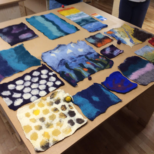 Felted! Felting courses with Gill Collinson at Cambridge Art Makers