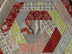 Quilt as you go cushion Quilting & Patchwork courses with Niki Chandler at Cambridge Art Makers