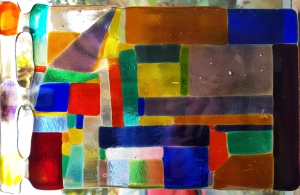 Slumped Glass course with Jill Fordham at Cambridge Art Makers