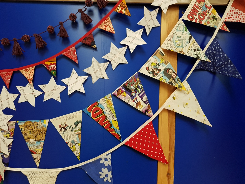 Bunting & Garlands at Cambridge Art Makers