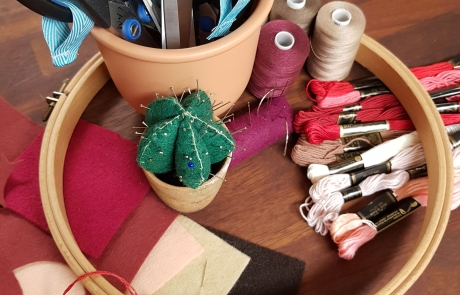 Embroidery resources at Cambridge Art Makers