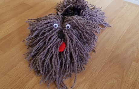 Pom Pom Puppets with Cambridge Art Makers