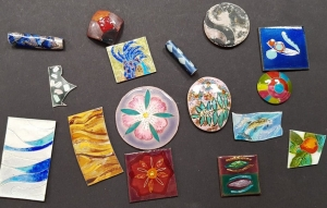 Enamelling courses with Sheila McDonald at Cambridge Art Makers