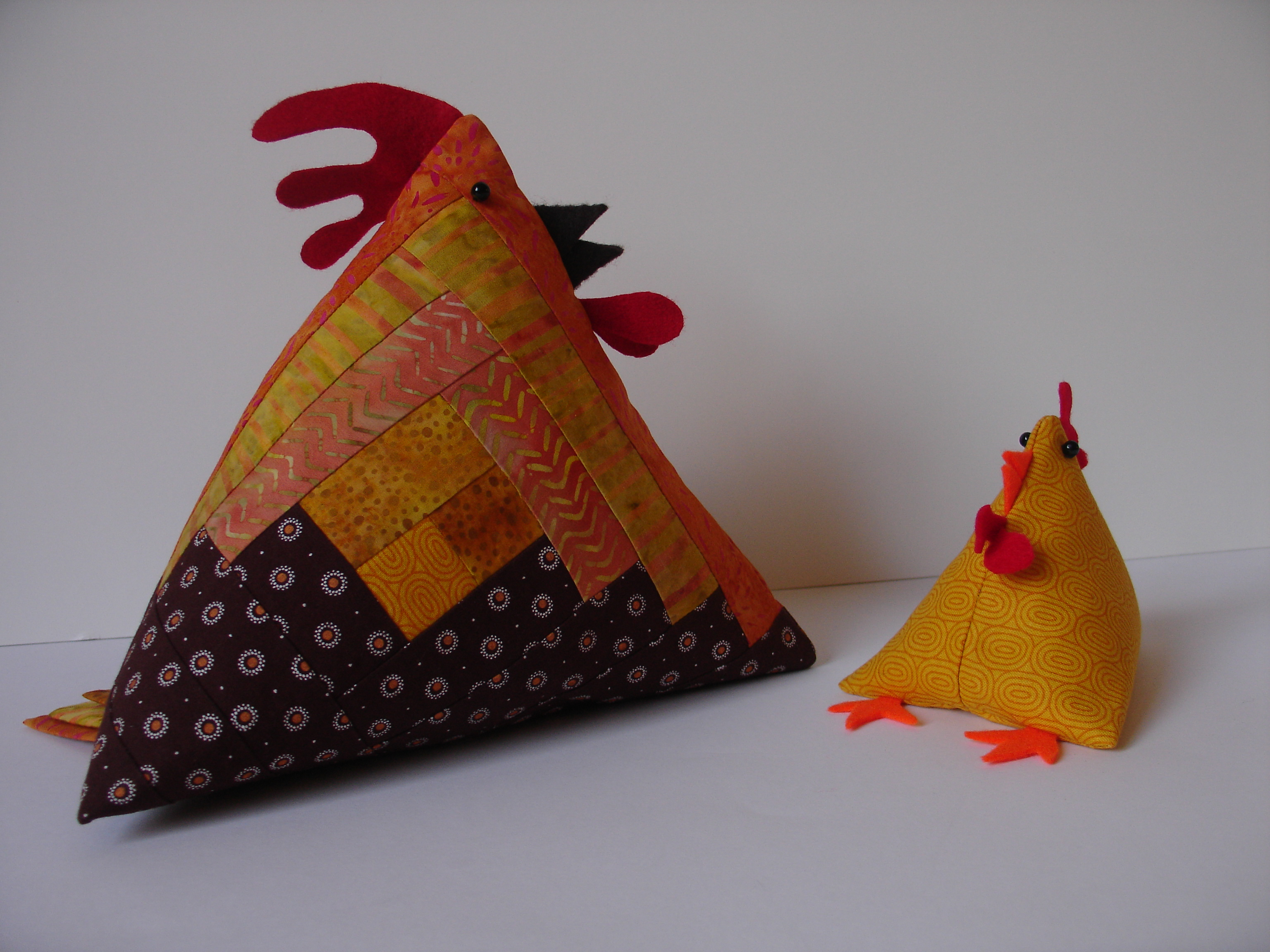 Chicken & Chick Patchwork & Quilting course with Niki Chandler at Cambridge Art Makers