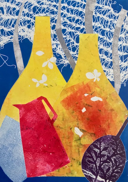 Monotype prints with Sue Jones at Cambridge Art Makers