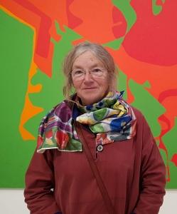 Janet Edwards Watercolour Flowers course tutor at Cambridge Art Makers
