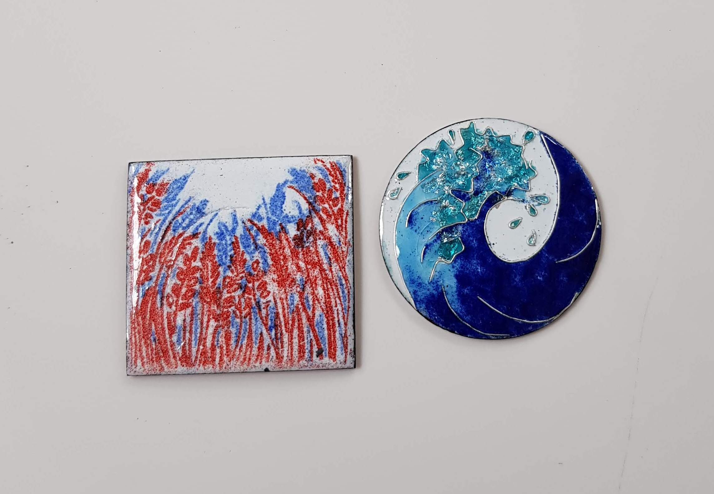 Enamelling courses with Sheila McDonald at Cambridge Art Makers