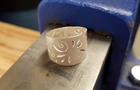 Ring Jewellery Making courses at Cambridge Art Makers