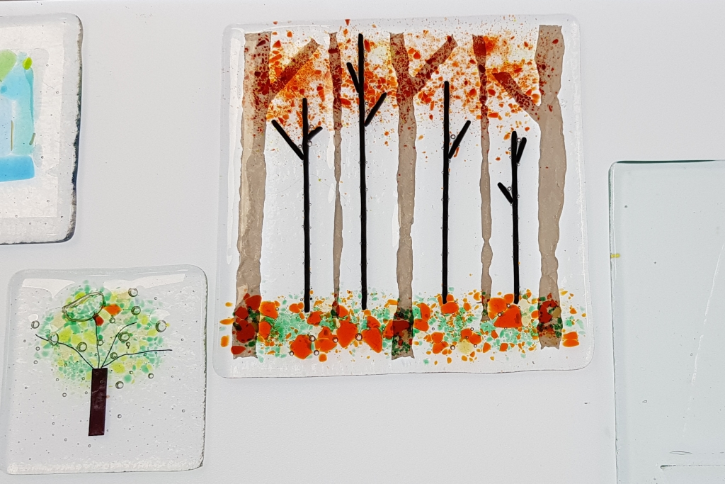 Fused Glass courses with Jill Fordham at Cambridge Art Makers