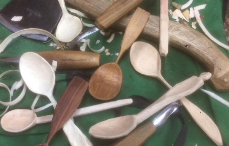 Wooden Spoon Carving course with Olly Moses at Cambridge Art Makers