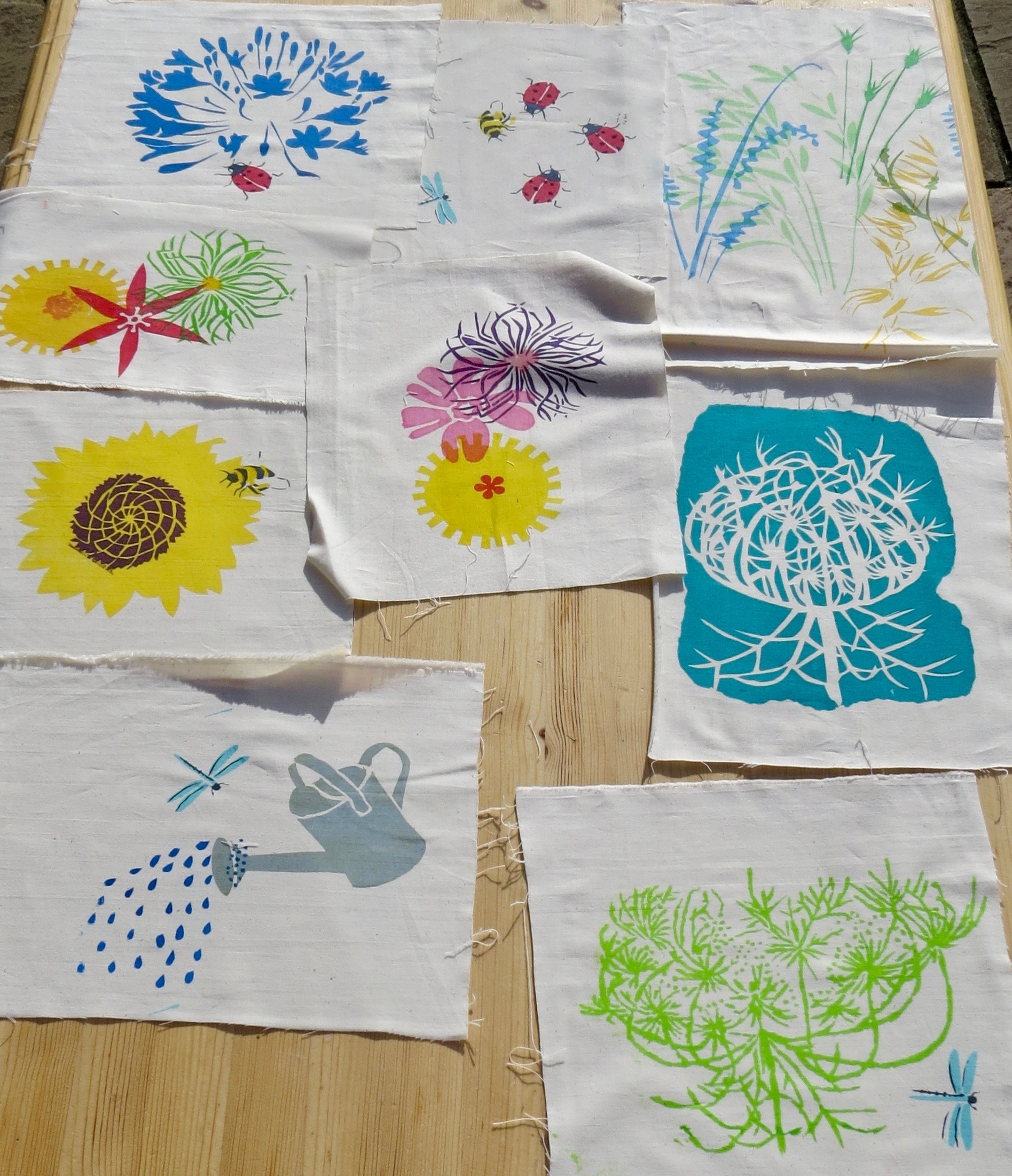 Screen Printing with Sarah Ruff at Cambridge Art Makers
