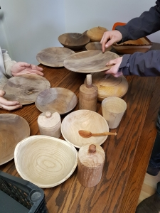 Woodwork creations by Olly Moses course tutor at Cambridge Art Makers