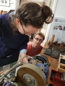 Bowl Turning course with Olly Moses at Cambridge Art Makers