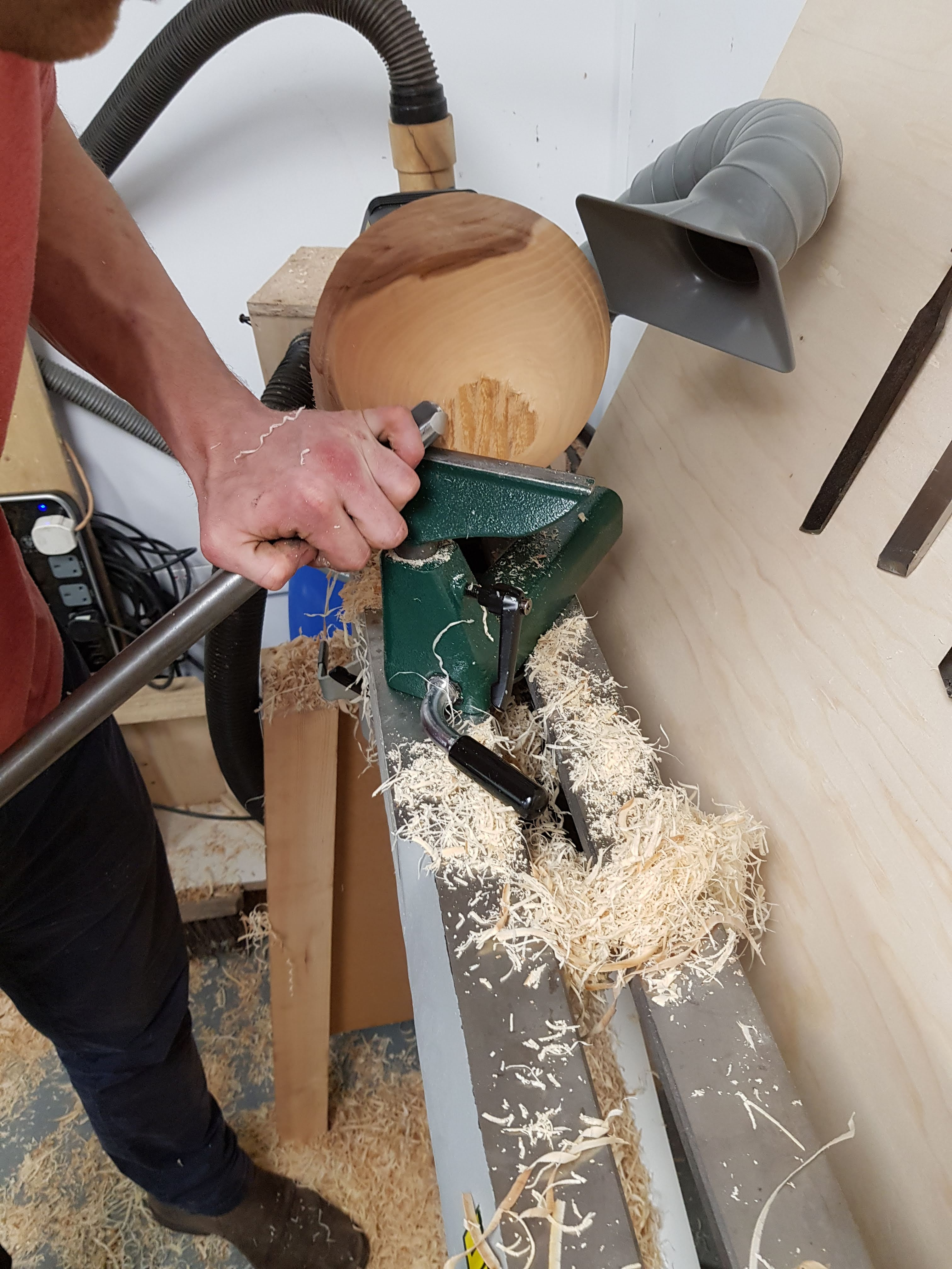 Bowl Turning courses with Olly Moses at Cambridge Art Makers