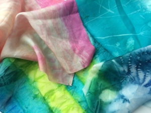 Silk Scarves course with Gill Collinson at Cambridge Art Makers
