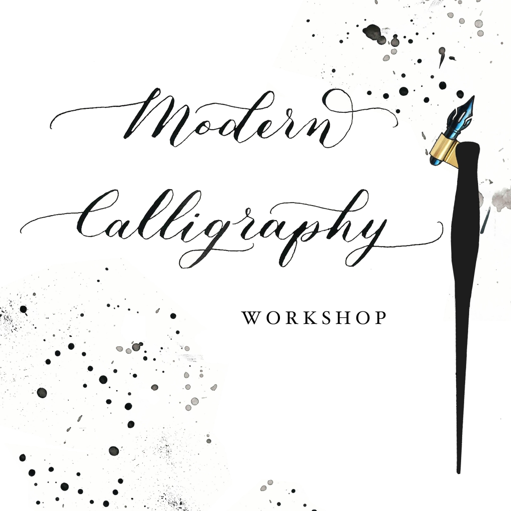 Modern Calligraphy course with Danielle Lummis at Cambridge Art Makers