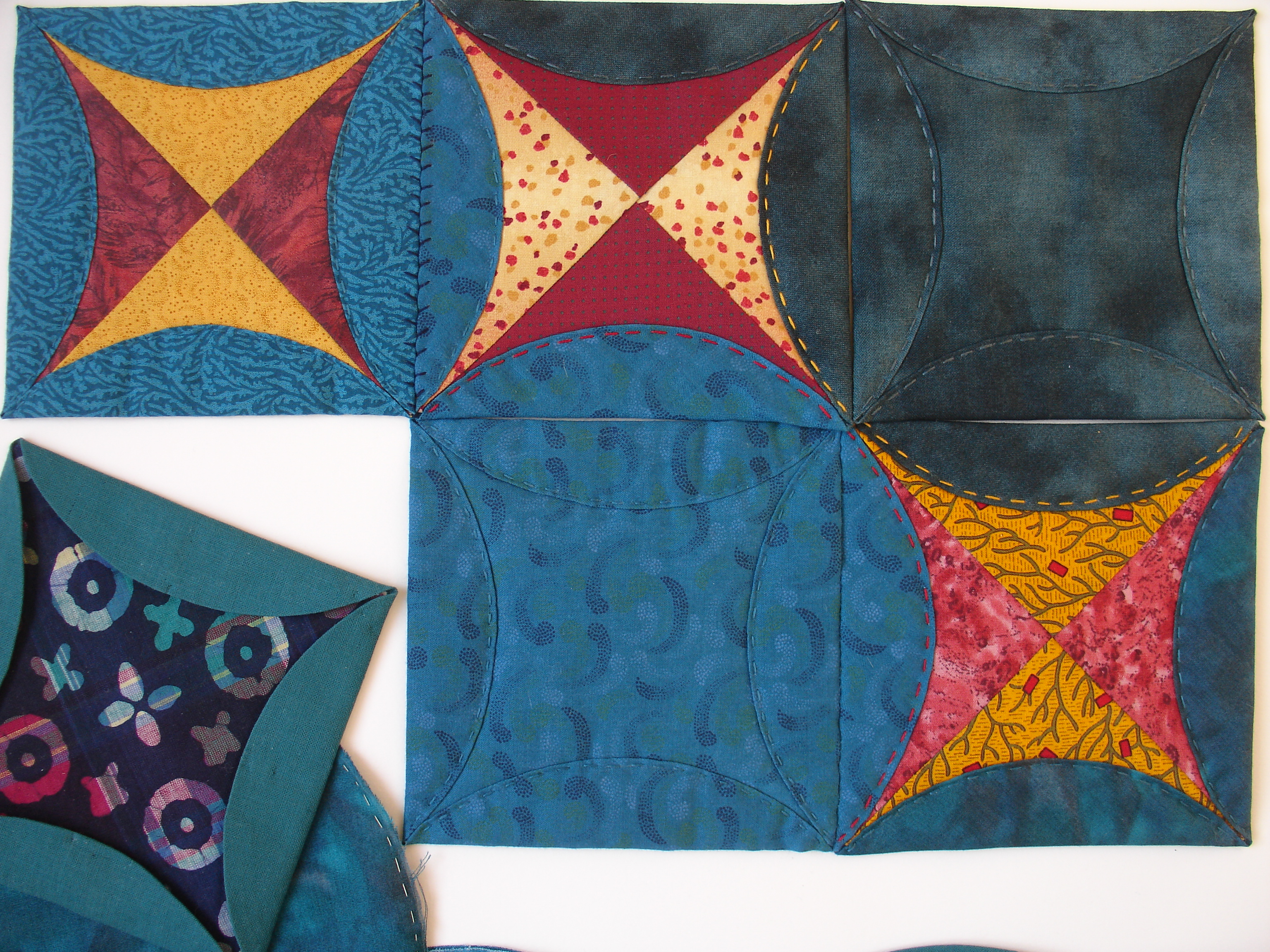 Japanese Patchwork Quilting Course with Niki Chandler at Cambridge Art Makers