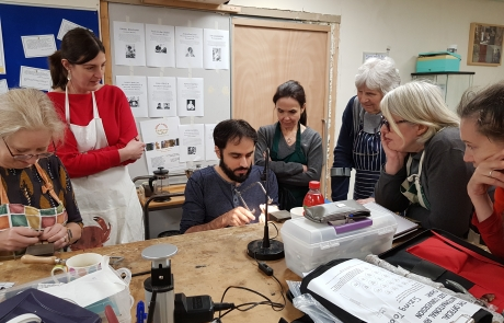 Jewellery Making course with Elia Rizzo at Cambridge Art Makers