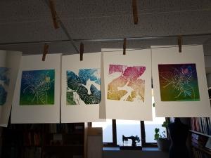 Printmaking course with Susan Jones at Cambridge Art Makers