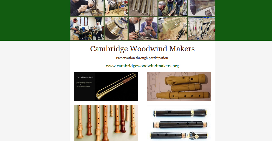 Cambridge Woodwind Makers