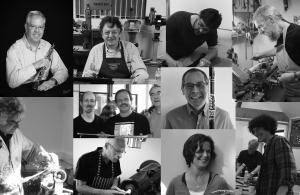 Cambridge Woodwind Makers tutors collage
