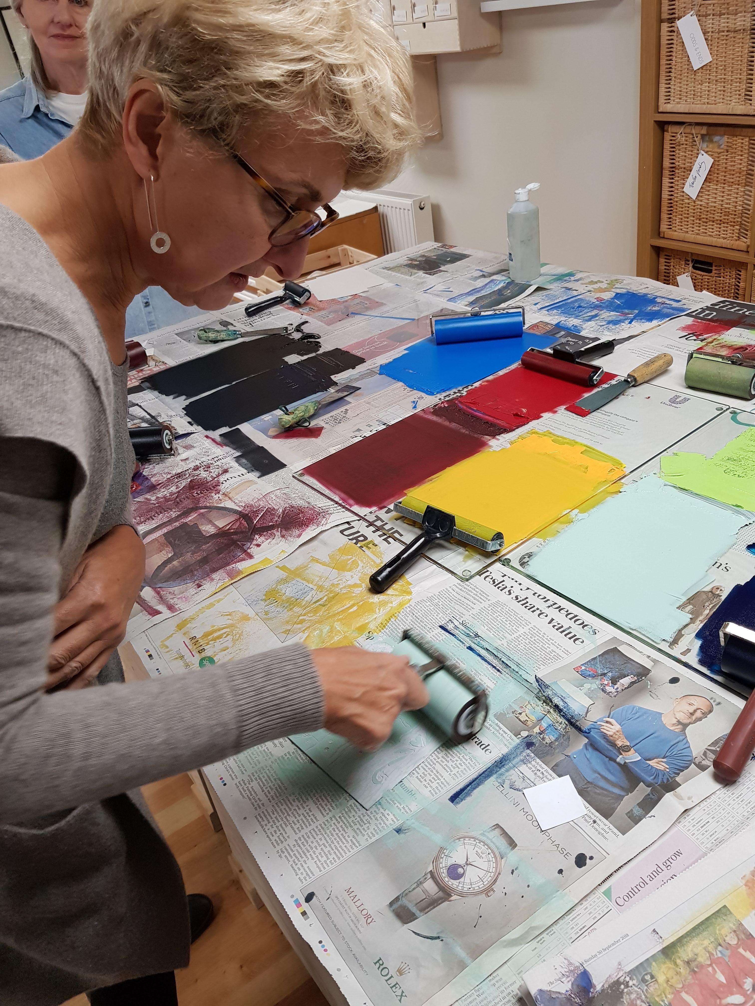 Susan Jones tutor at Cambridge Art Makers