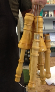 Baroque Oboe Making with Paul van der Linden at Cambridge Woodwind Makers