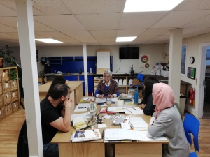 Writing Life with Lesley Beake at Cambridge Makers working