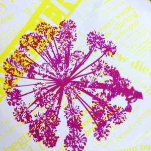 Screen Printing on Fabric course with Sarah Ruff at Cambridge Art Makers seed
