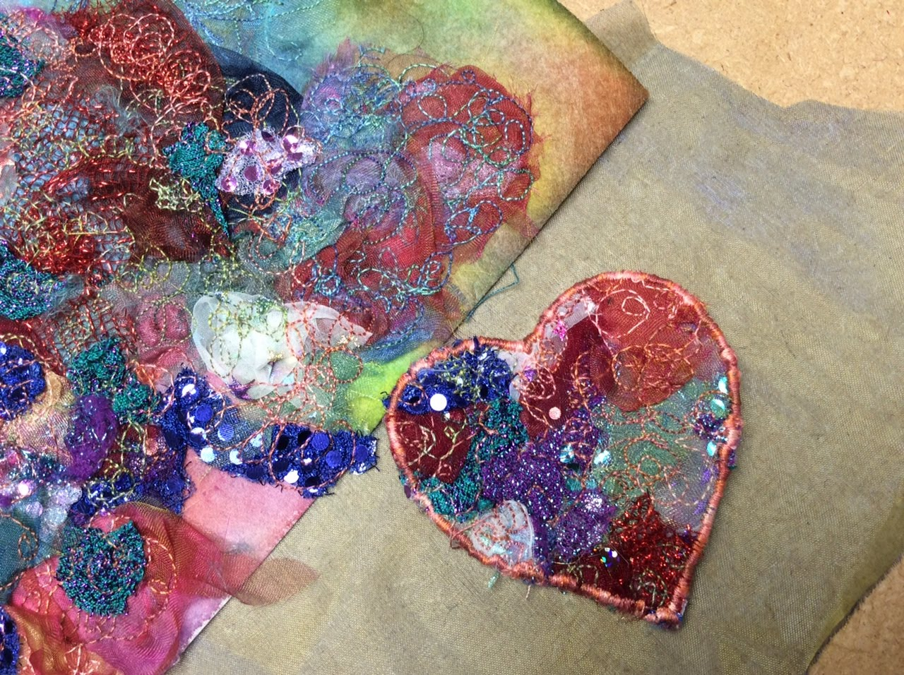 Textiles & Mixed Media with Gill Collinson at Cambridge Art Makers